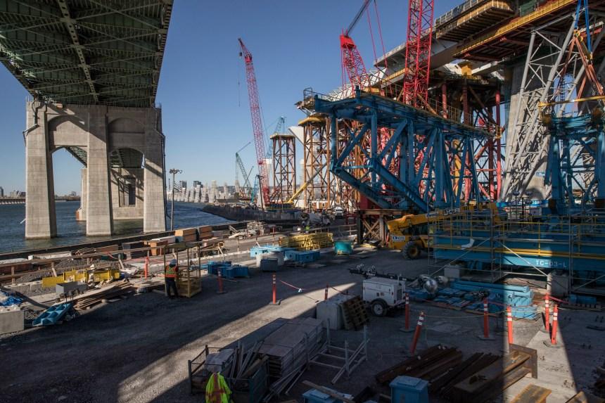 Intensification des travaux du nouveau pont Champlain