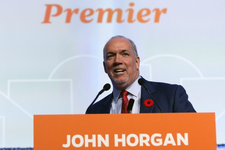 Oléoduc Trans Mountain : John Horgan dit qu'il ne changera pas d'idée