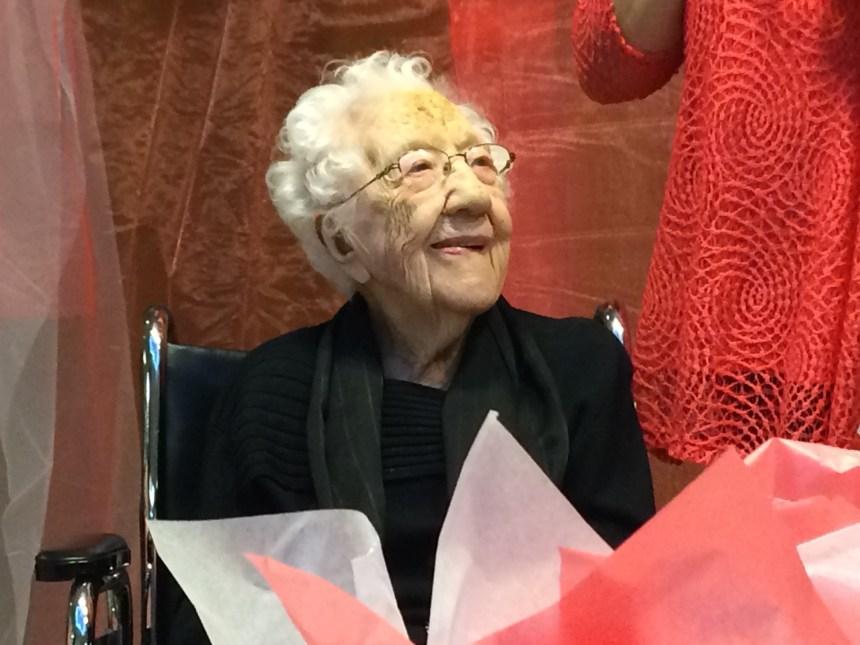 Son message à presque 110 ans: «aimez-vous les uns et les autres»