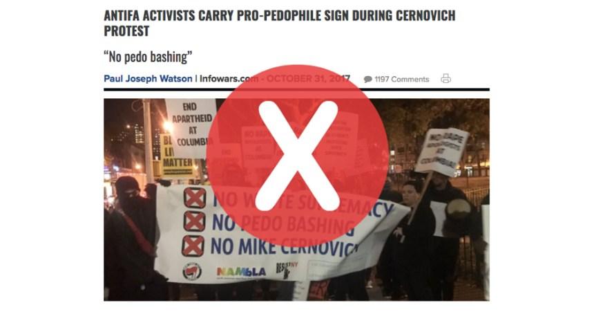 Non, ces manifestants ne sont pas «pro-pédophilie»