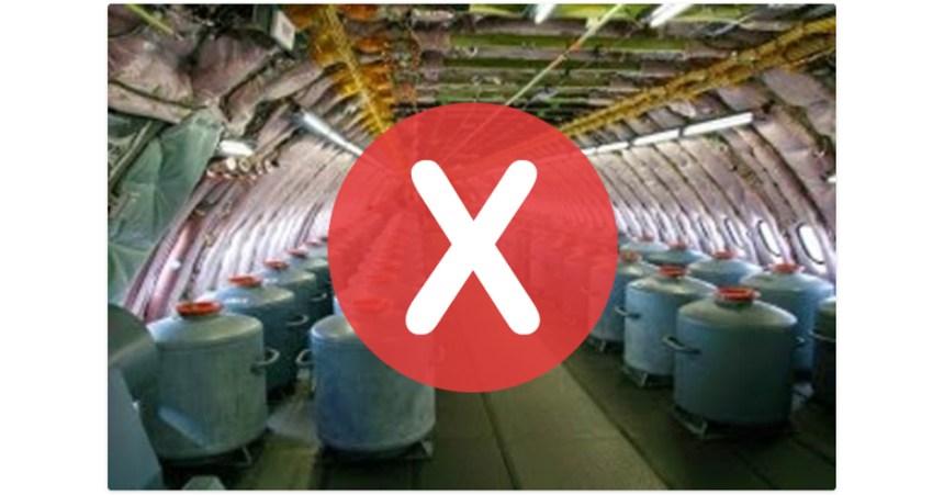 Non, cet avion ne sert pas à répandre des «chemtrails»
