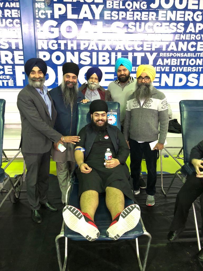Faciliter les dons de sang pour la communauté sikh