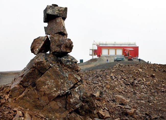 Soulagement pour une station de recherche arctique