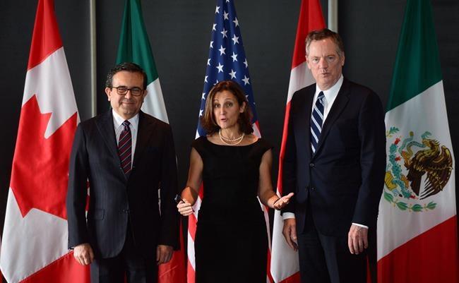 ALÉNA: les ministres n'iront pas à Mexico