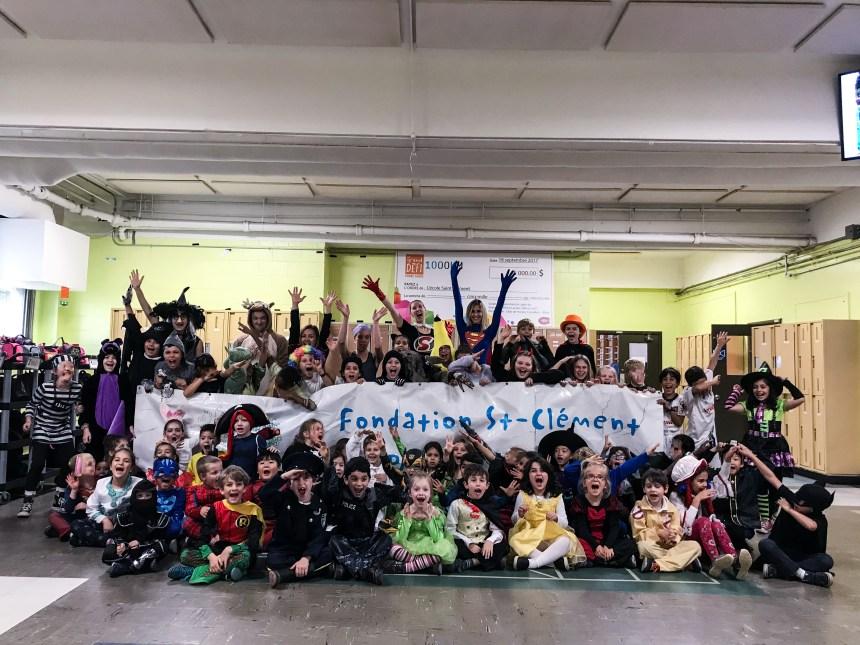 École Saint-Clément-Est: campagne de financement historique