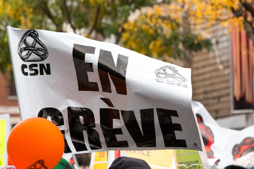 57 CPE de Montréal et Laval se prononcent en faveur de la grève générale