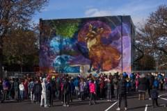 L'art urbain dans une école de Ville-Émard