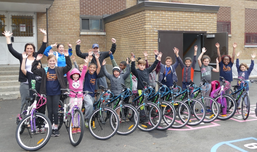 120 vélos pour des jeunes de milieux défavorisés