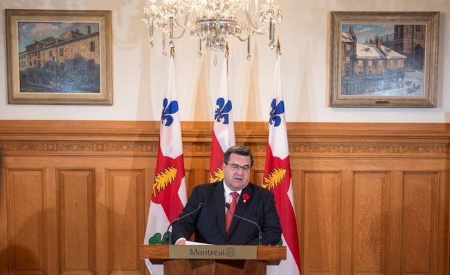 Denis Coderre dit adieu à la mairie de Montréal