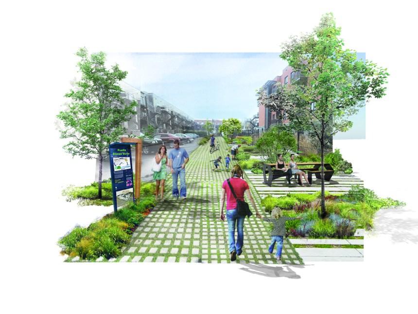 Une première ruelle bleue-verte dans Pointe-Saint-Charles