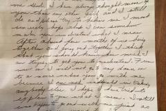 Une vieille lettre d'amour retrouvée aux E.-U.