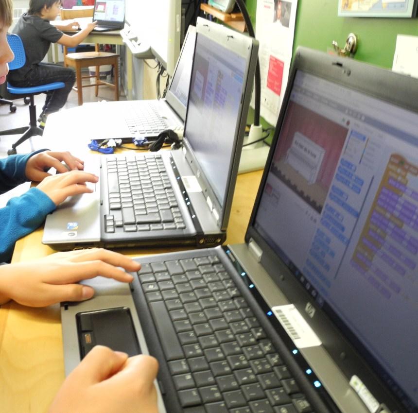 Des élèves du Plateau initiés à la programmation informatique