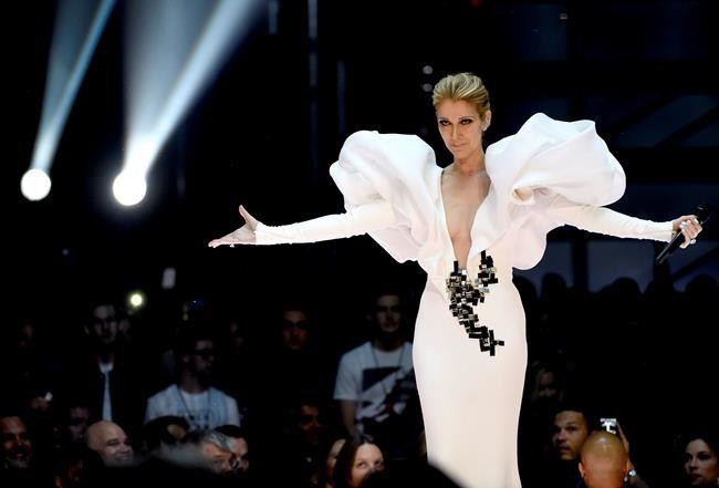 Céline Dion annule tous ses spectacles d'ici mai