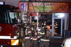 La pizzeria Miracle dans Saint-Henri ravagée par un incendie