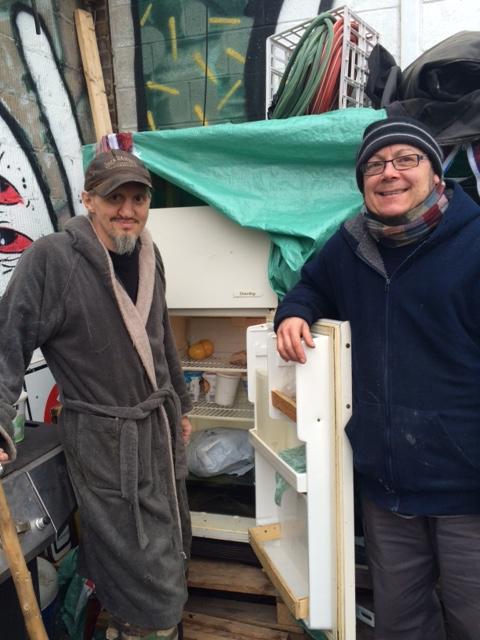 Premier frigo communautaire dans Saint-Henri
