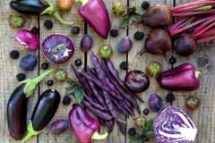 Des végétaux violets dans l'assiette en 2018