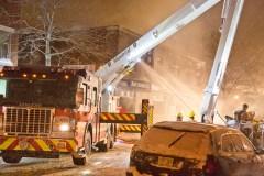 L'ancien bar Latour dans Côte-Saint-Paul de nouveau incendié