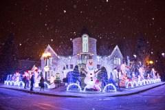 Des décorations de Noël spectaculaires
