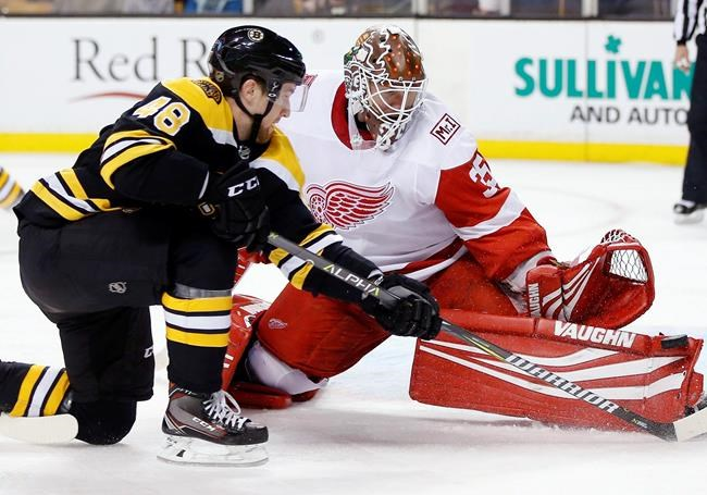 Les Bruins battent les Red Wings 3-1