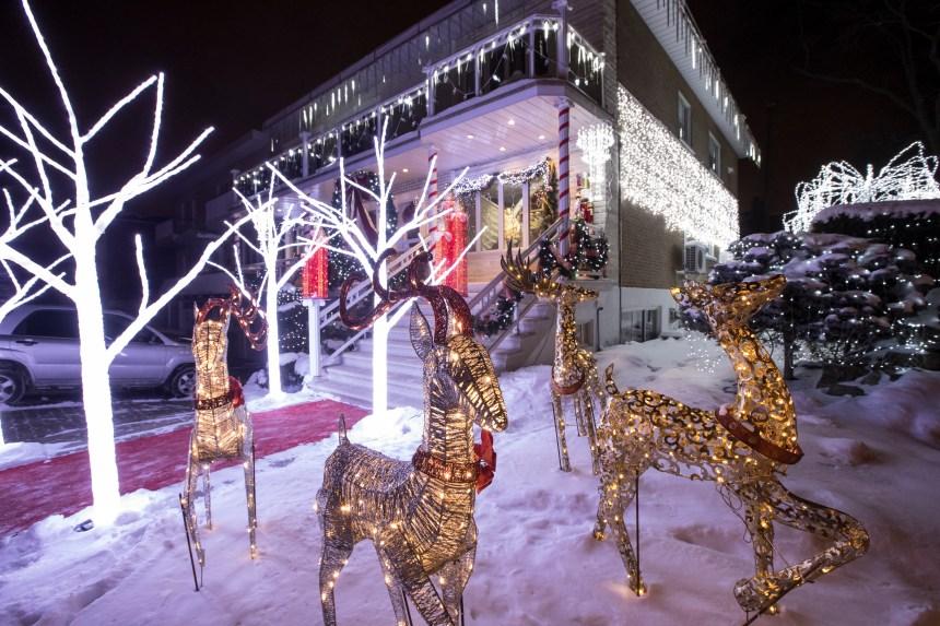 Plus de 30 000 lumières de Noël pour un décor féérique