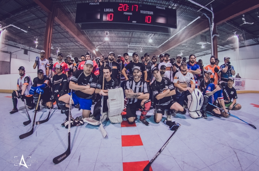 La ligue Powerball s'impose dans le monde du hockey balle