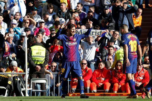 Le Barça s'offre le Real Madrid en cadeau