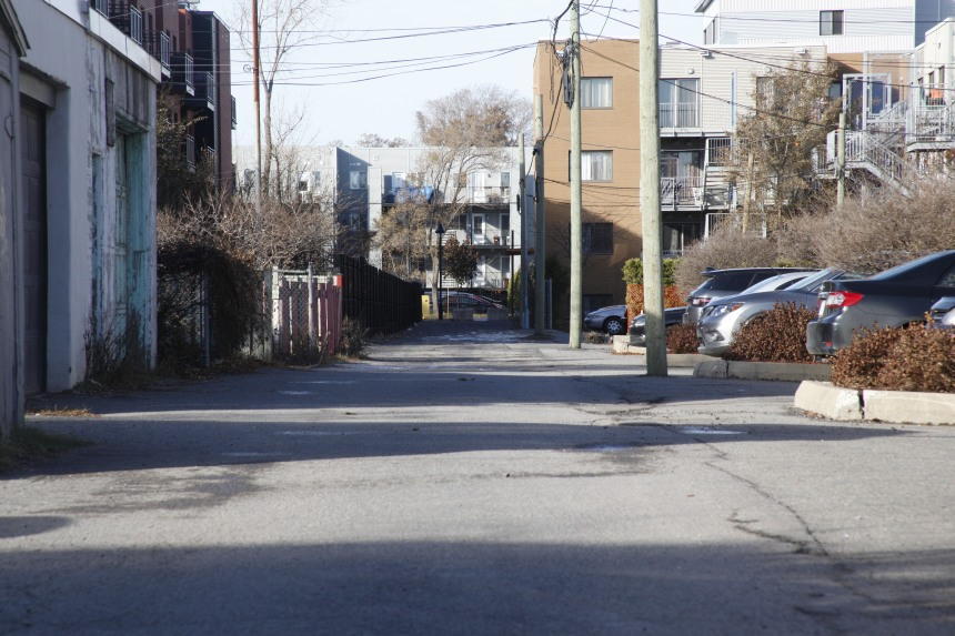 Un projet pilote de ruelle bleue-verte dans Hochelaga-Maisonneuve