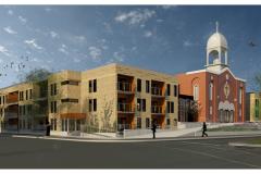 Démolition de l'église Saint-Victor pour faire place à un projet communautaire
