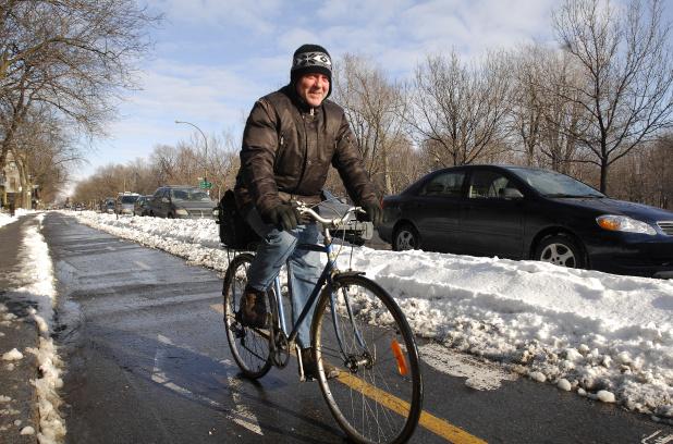 Le vélo d'hiver toujours aussi populaire