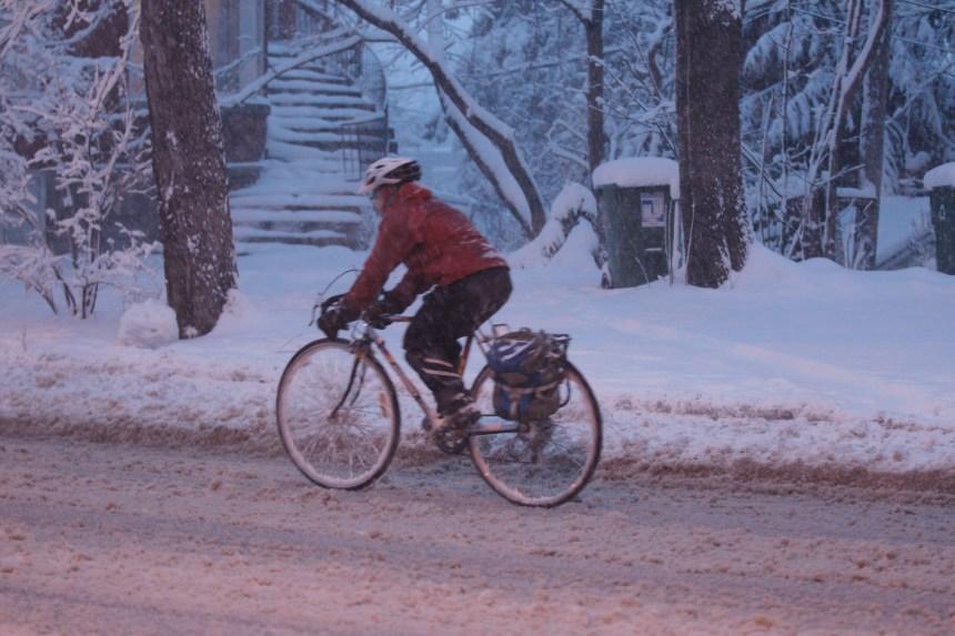 Pistes cyclables: MHM déneigera 77% de son réseau cet hiver