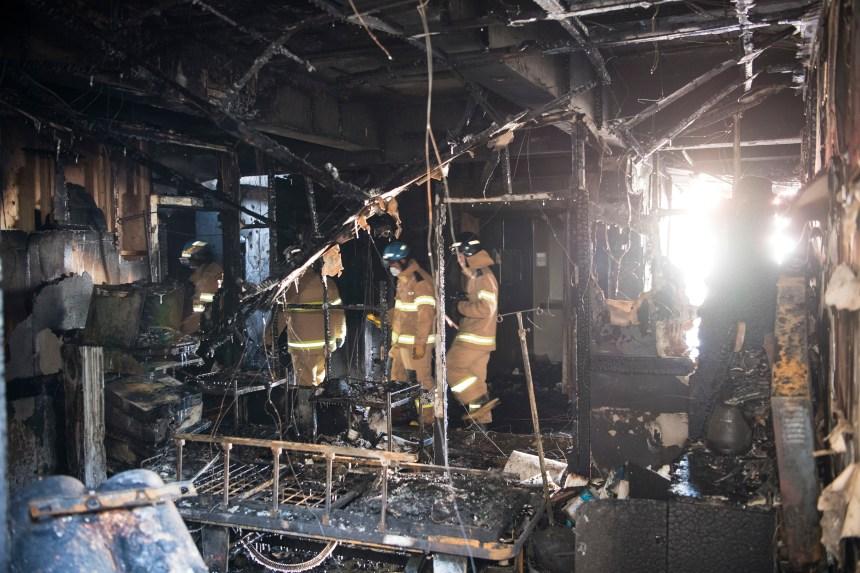 Un incendie fait 37 morts en Corée du Sud