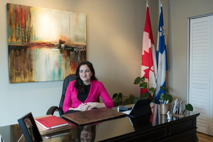 Marie Montpetit sollicitera un second mandat