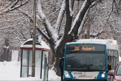 Les Montréalais pourront apporter leurs skis et traîneaux dans le métro