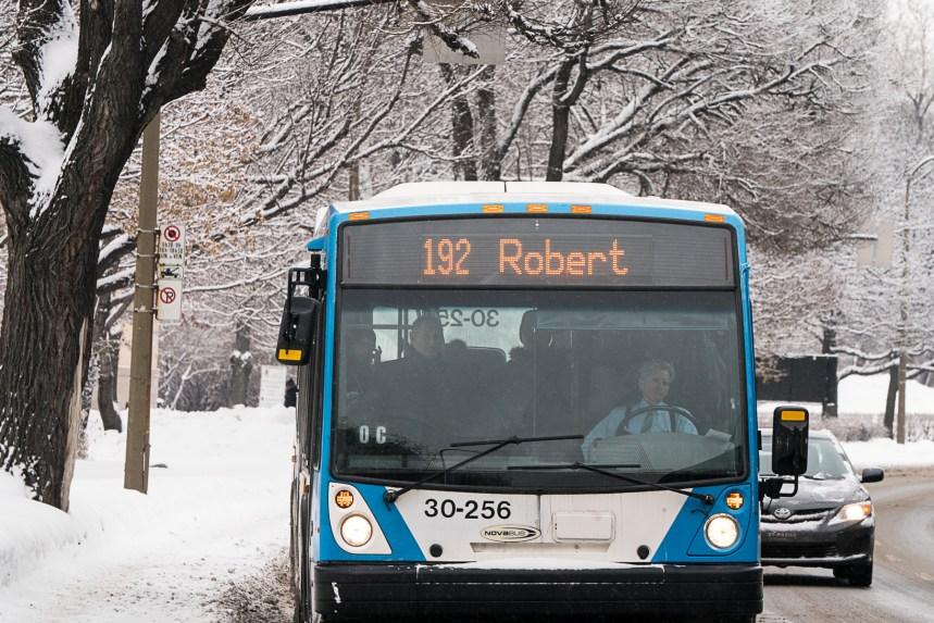 1,3G$ débloqués pour l'achat de nouveaux autobus à Montréal