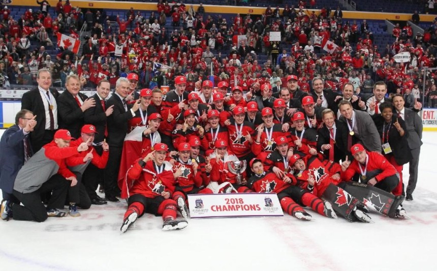 Équipe Canada junior: Six joueurs retranchés