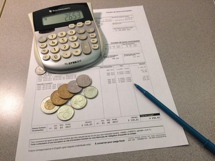 Hausse des taxes de 0,7% à LaSalle