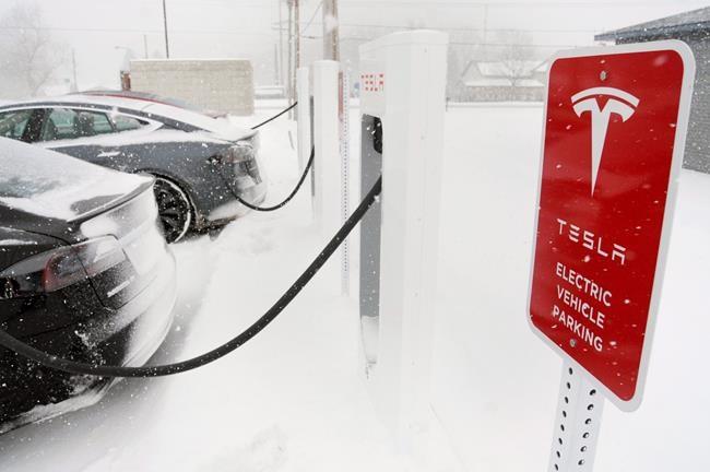 Tesla installera des bornes dans les Maritimes