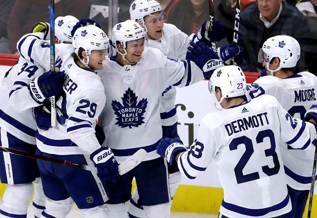 Nylander donne la victoire aux Leafs