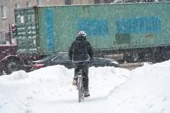 Les fleurs et le pot du vélo d'hiver à l'ère de Valérie Plante