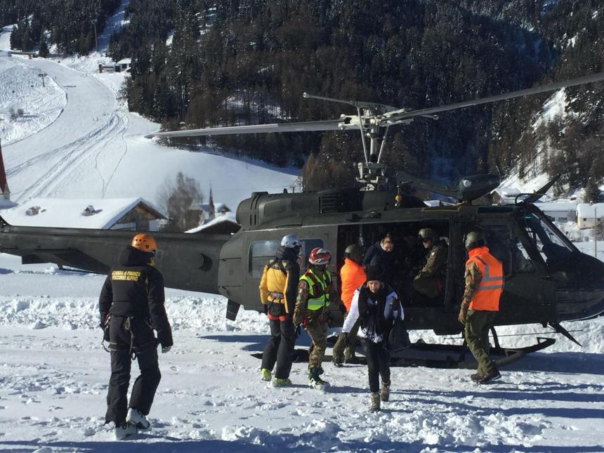 La neige force l'évacuation d'un hôtel en Italie