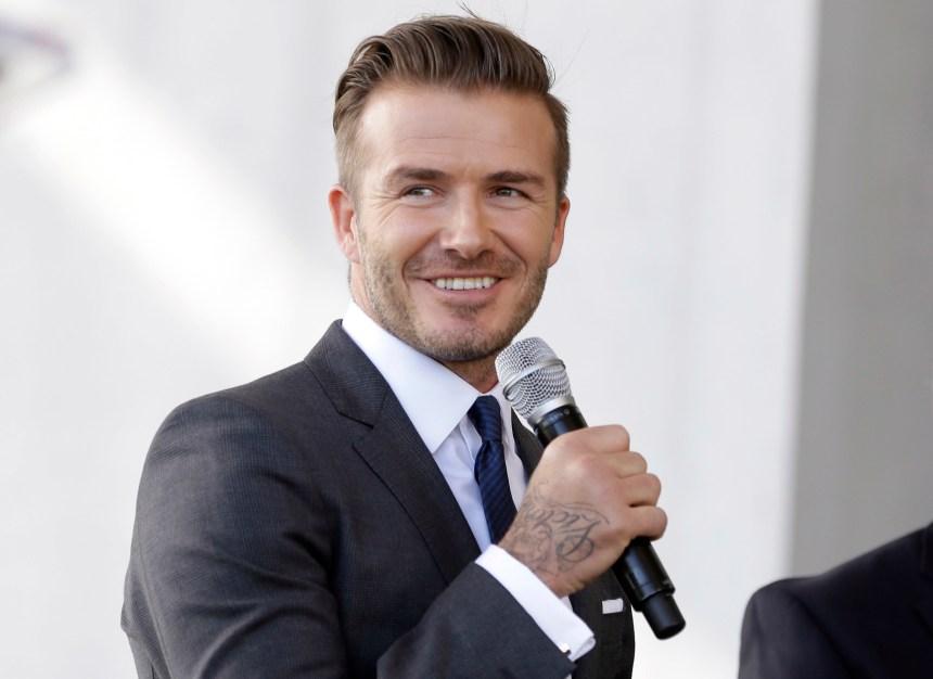 MLS: Beckham dévoilerait ses plans lundi, dit l'AP