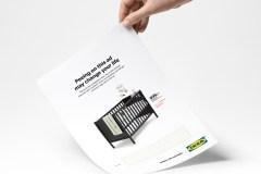Ikea vous invite à faire pipi sur son annonce