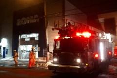 Incendie au Rona Lachine