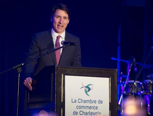 Justin Trudeau à La Malbaie en préparation du G7