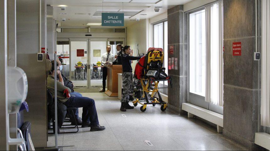 Hausse de l'attente médiane aux urgences