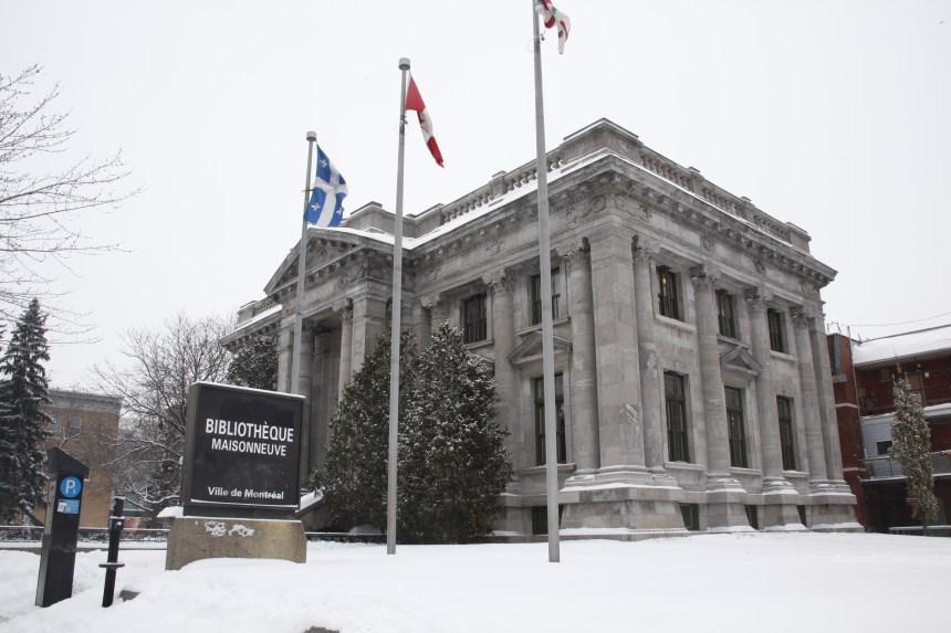 Un groupe de citoyens s'oppose à l'agrandissement de la bibliothèque Maisonneuve