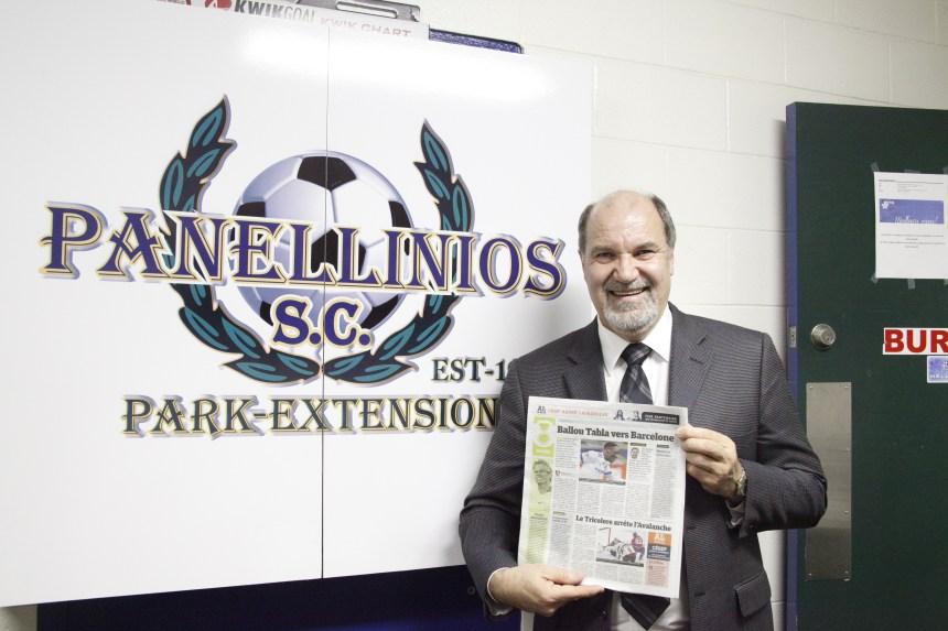 Ballou Tabla fait la fierté de son ancien club de Parc-Extension