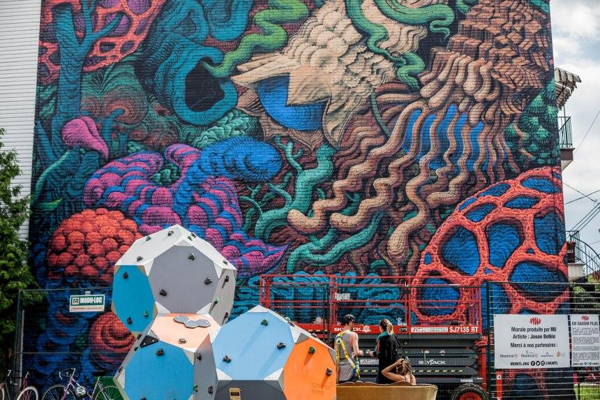 Davantage de murales