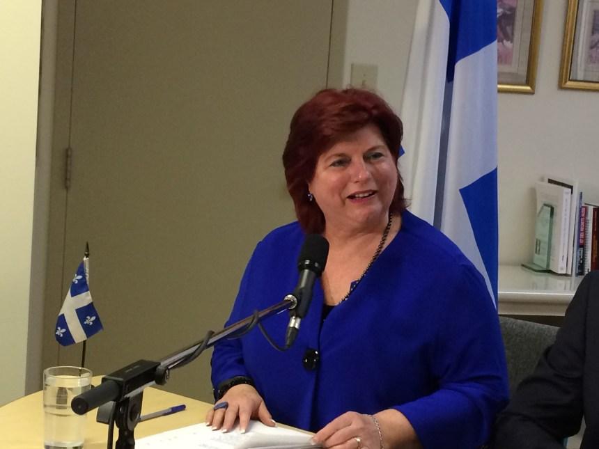 Nicole Léger quittera la vie politique