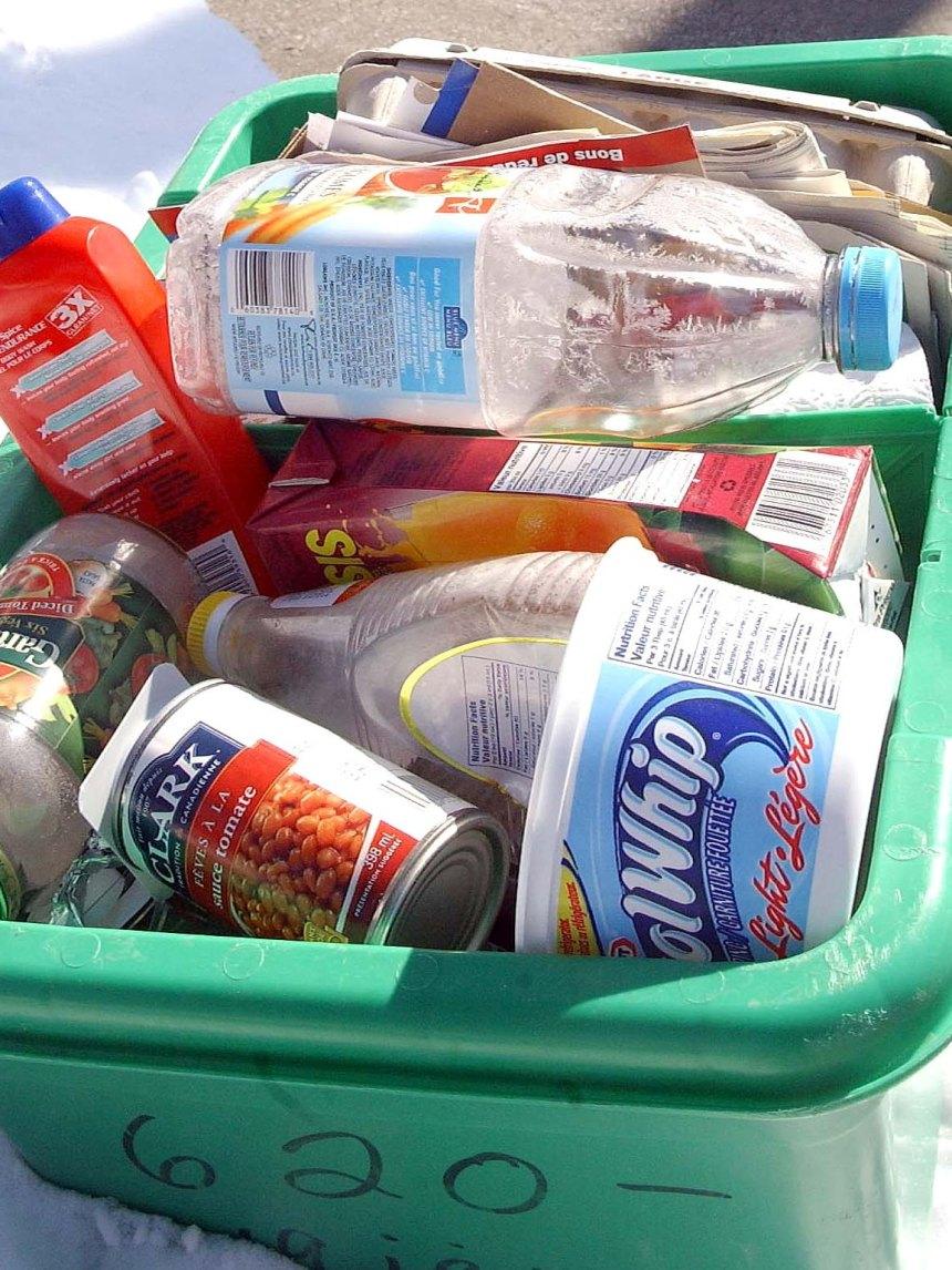 Collecte de recyclage fastidieuse à LaSalle